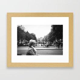 Cruising Through Amsterdam Framed Art Print