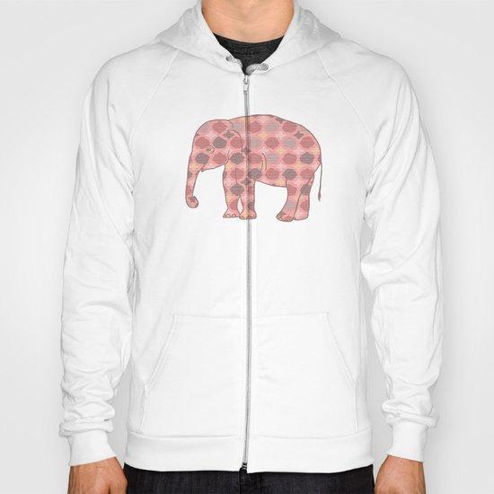 Bohemian Pink Elephant Hoody