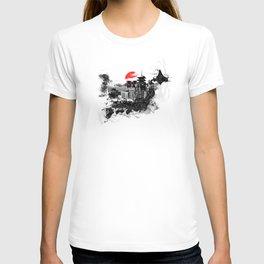 Abstract Tokyo-Shinjuku/Kyoto - Japan T-shirt