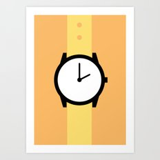 #87 Watch Art Print
