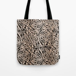 Celtic Warlord carbon Tote Bag
