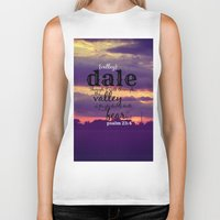 dale cooper Biker Tanks featuring Dale by KimberosePhotography