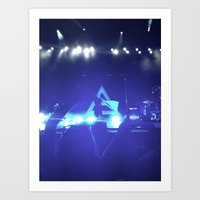 30 seconds to mars Art Prints featuring Thirty Seconds to Mars by ijsw
