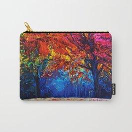 Tardis Tree Art Blossom Carry-All Pouch