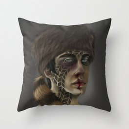 Road Kill Throw Pillow