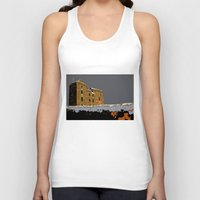 scotland Tank Tops featuring Scotland Winter by dacarrie