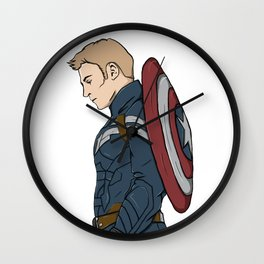 Capt. America Wall Clock