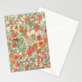 Vintage Floral Pattern #2 by Owen Jones, 1867 Stationery Cards