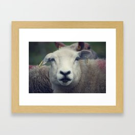 You Blinked Framed Art Print