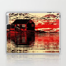 House on the Fjord Laptop & iPad Skin
