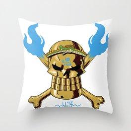 Jolly Wrecker Throw Pillow