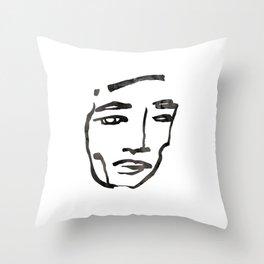 him #1 Throw Pillow