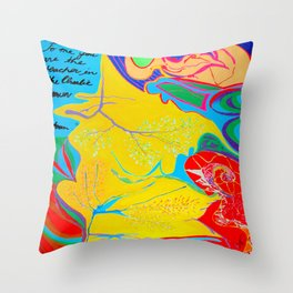 Charlie Brown Teacher Throw Pillow