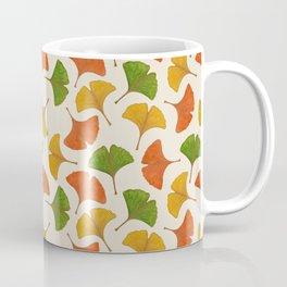 Fall ginkgo biloba leaves pattern Coffee Mug