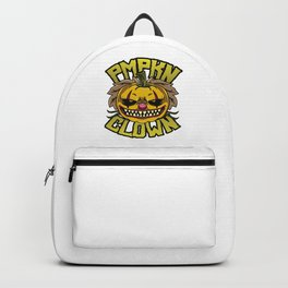 Pumpkin Clown Backpack
