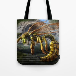 Dragon Wasp Tote Bag