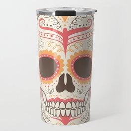 beatiful skull Travel Mug