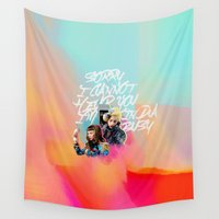 telephone Wall Tapestries featuring telephone by evenstarss