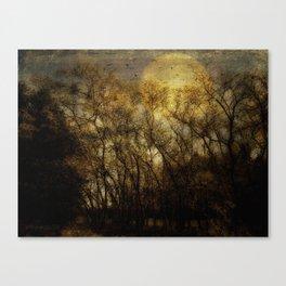 Hush Now Canvas Print