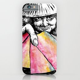 The Lottery Ticket Seller iPhone Case
