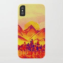 Landscape #05 iPhone Case