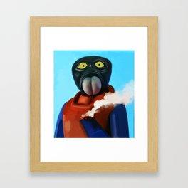 Walrusman Cauterisation Conundrum  Framed Art Print