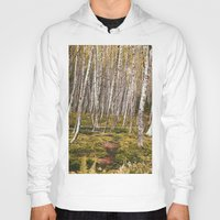 helen Hoodies featuring Regrowth from Mount Saint Helen by Amanda Picotte