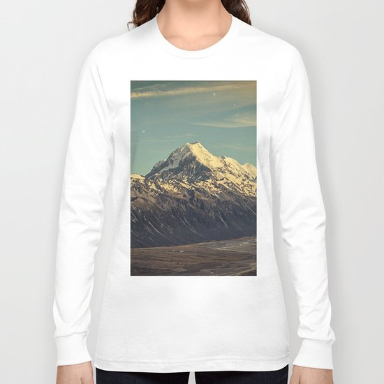 Vintage Mountain Long Sleeve T-shirt