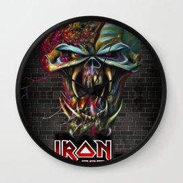 Iron Maiden Wall Clock