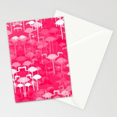 Flamingo land flip repeat, new colorway 5 Stationery Cards