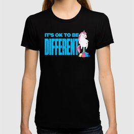Okay To Be Different Unicorn T-shirt