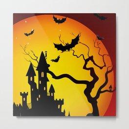 Halloween Night Terrors Metal Print