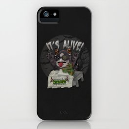 Frank & Stein, the Happy Halloween Monster duo! iPhone Case