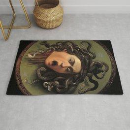 Medusa Michelangelo Merisi da Caravaggio Rug