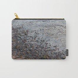 Pebble Beach - Abstract Coastal Art Carry-All Pouch
