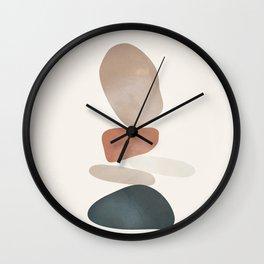 Balancing Stones 25 Wall Clock