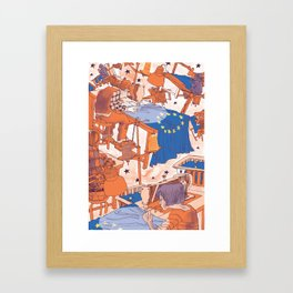 European Journal #1 Framed Art Print