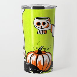 The Swankiest Halloween Party Travel Mug