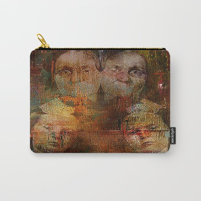 Twins intergenerational Carry-All Pouch