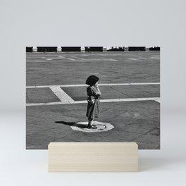 ALONE IN VENICE Mini Art Print
