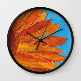 The Sunflower Wall Clock