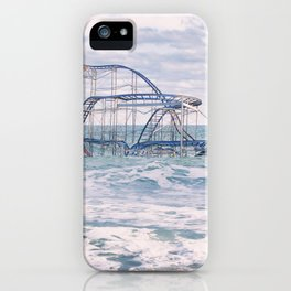 Jet Coaster Full Closeup iPhone Case