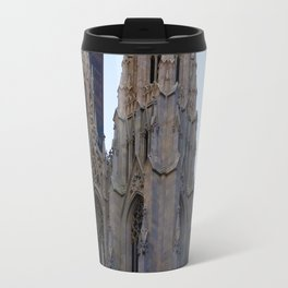 St. Pat's at sunset Travel Mug