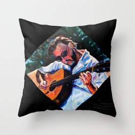 Playing Lizzie Taylor Throw Pillow