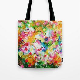 Full abstract Tote Bag