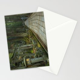 Path through Koyasan Okunoin cemetery, Wakayama Prefecture, Japan Stationery Cards