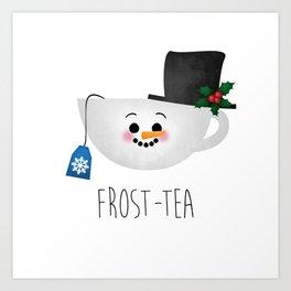 Frost-tea Art Print