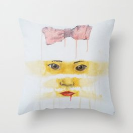 always looking, always learning Throw Pillow
