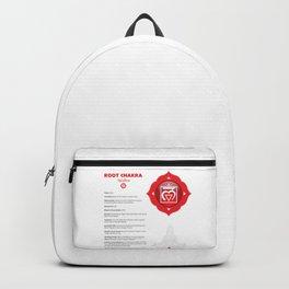 Root Chakra - Muladhara Art & Chart Backpack