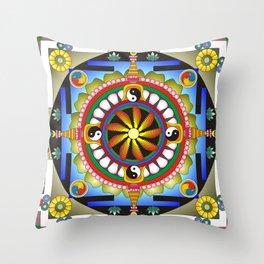 Mandala17 Throw Pillow